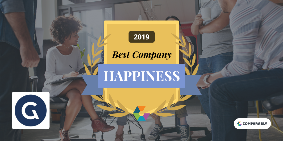 Comparably Happiness Award