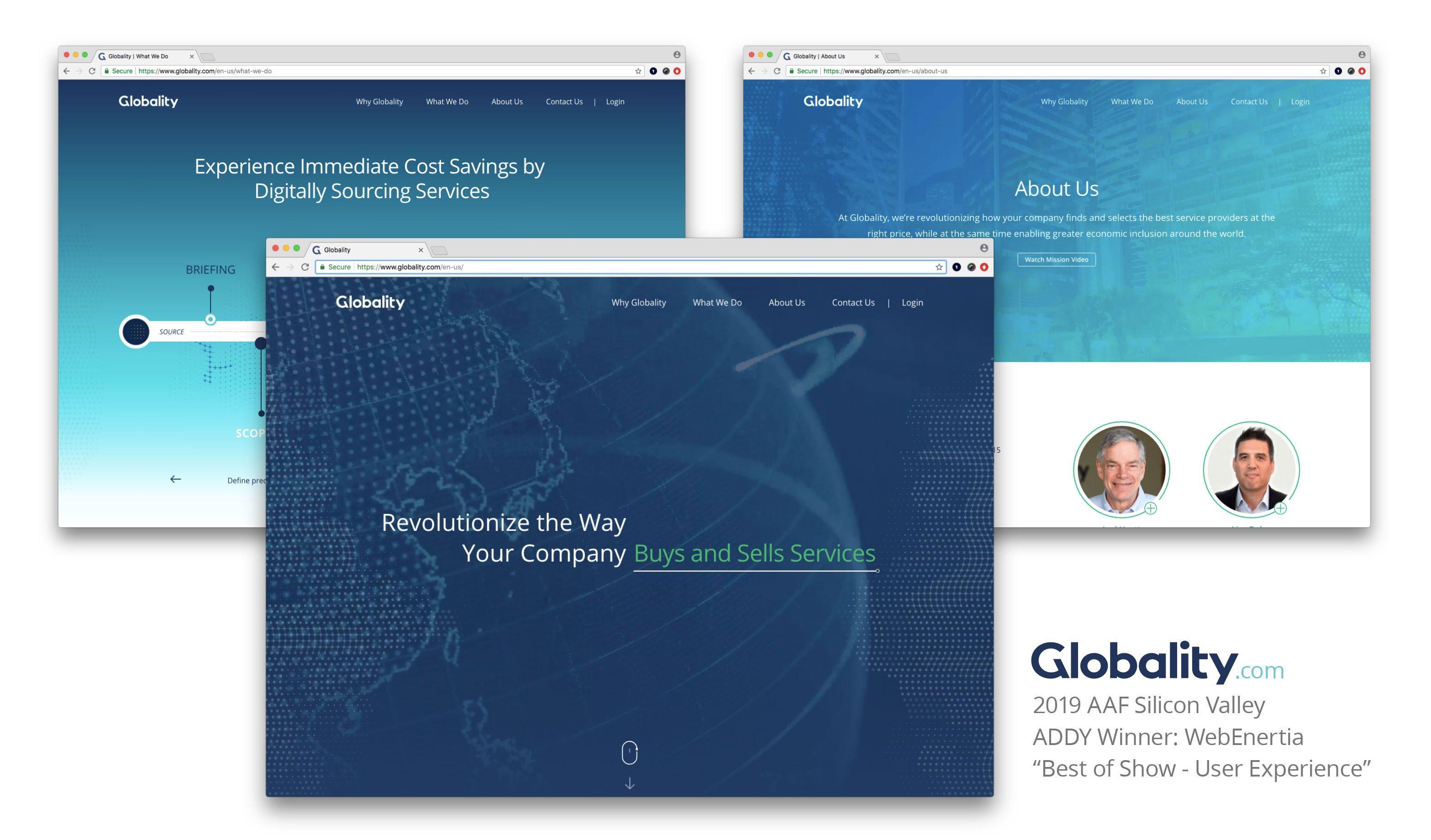 Globality.com ADDY Winner