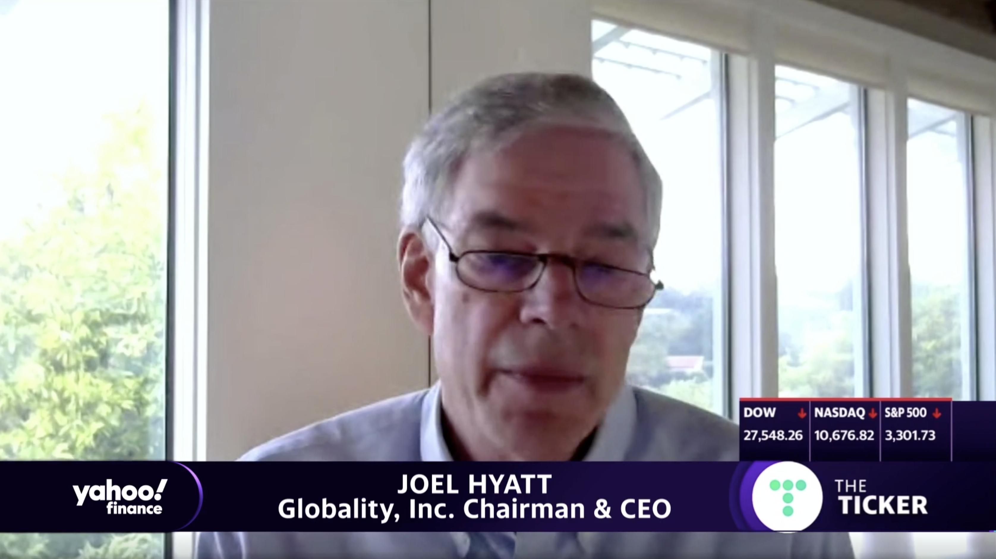 Joel Hyatt on Yahoo Finance