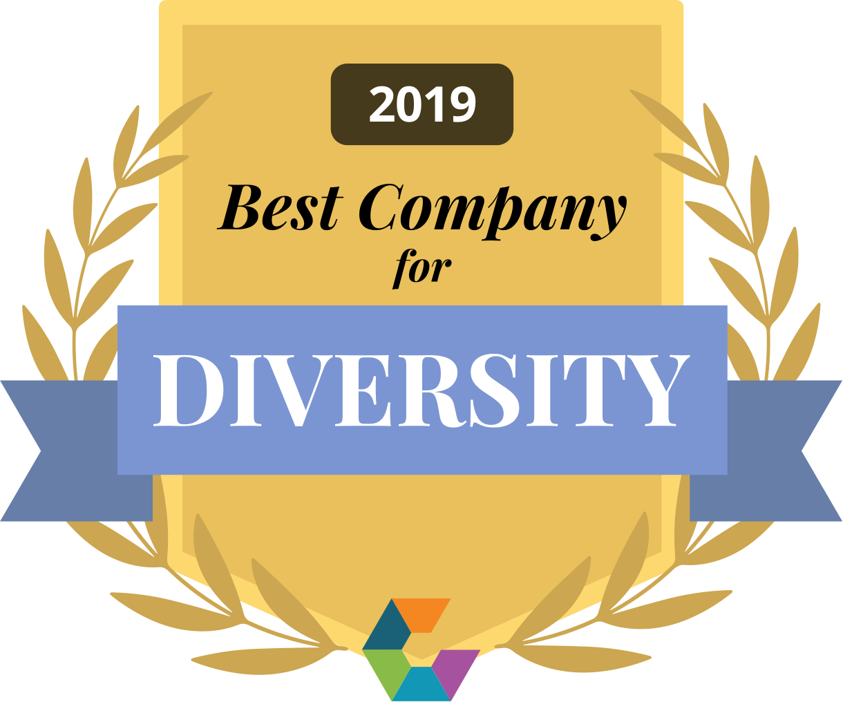 2019 Best Company for Diversity by Comparably